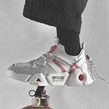 New Designer Casual Shoes Men Mesh Sneakers Adult Footwear M