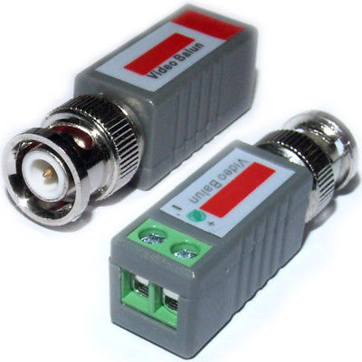 DHL/EMS  100 Pcs CCTV BNC Video Balun UTP Transceive Terminal-A8