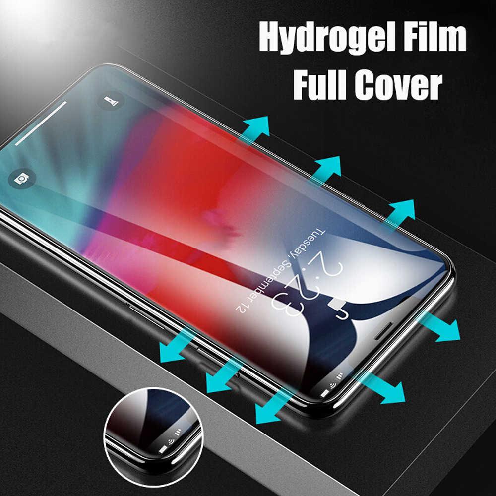 ZLNHIV folia ochronna miękkie pełne etui na xiaomi mi mi x 2 2s 3 hydrożel film mi max 3 max 2 nie szkło folia ochronna na telefon