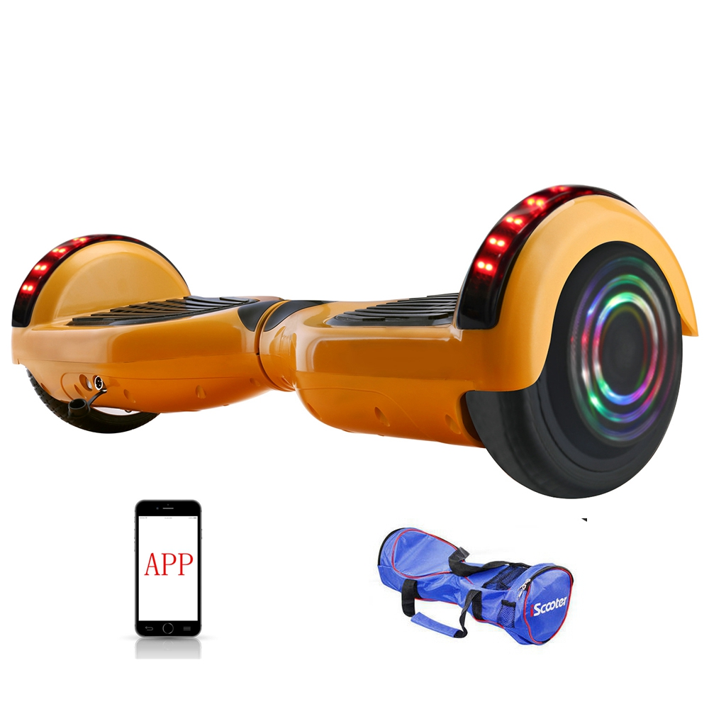 APP Control Bluetooth Hoverboard or self Balance Smart Electric Skateboard 3