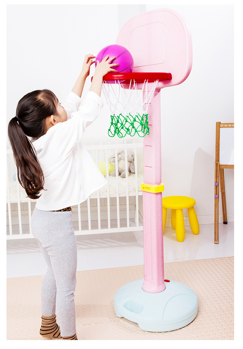 Children's Plastic Lifting Basketball Hoop Indoor Baby Educational Toys Outdoor Boy Girl Fitness Toys