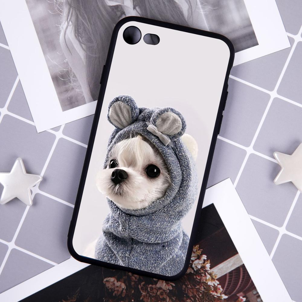 Cute Cartoon Cat Silicone Ultra Thin Phone Case For iphone 11 Pro Case For iphone X XR XS Max 6 7 8 Plus Funny Animal TPU Cover