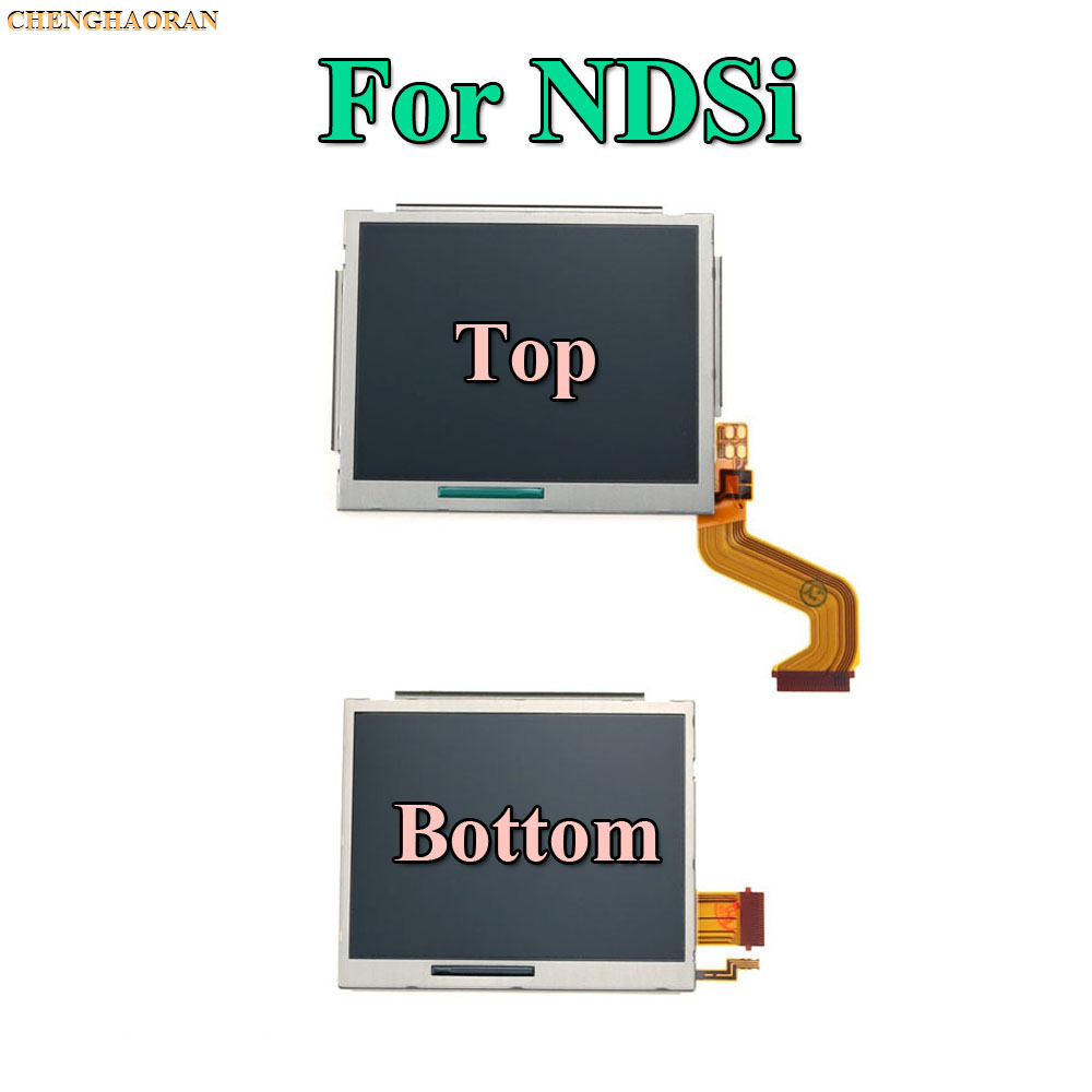 cheapest Replacement Parts Top Bottom  amp  Upper Lower LCD Screen Display For Nintend DS Lite NDS NDSL NDSi New 3DS LL XL for Nintend Switch