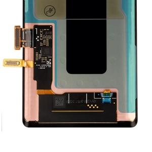Image 4 - מקורי סופר AMOLED 6.4 תצוגה + מסגרת לסמסונג גלקסי הערה 9 Note9 N960D N960F LCD מסך מגע Digitizer חלקי תיקון