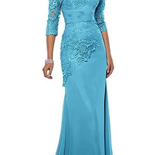 Satin Lace Mother of the Bride Dresses w