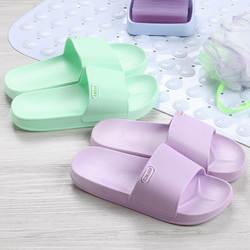 Новинка 2019 года; стильная женская обувь для ванной; Домашние Нескользящие удобные сандалии