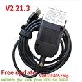 2021 популярными Wesheu VCD) V2 21,3 с шестигранной головкой Интерфейс Электрический тестер VA COM 20,12 для VW AUDI Skoda сиденья ATMEGA162 + 16V8 + FT232RQ