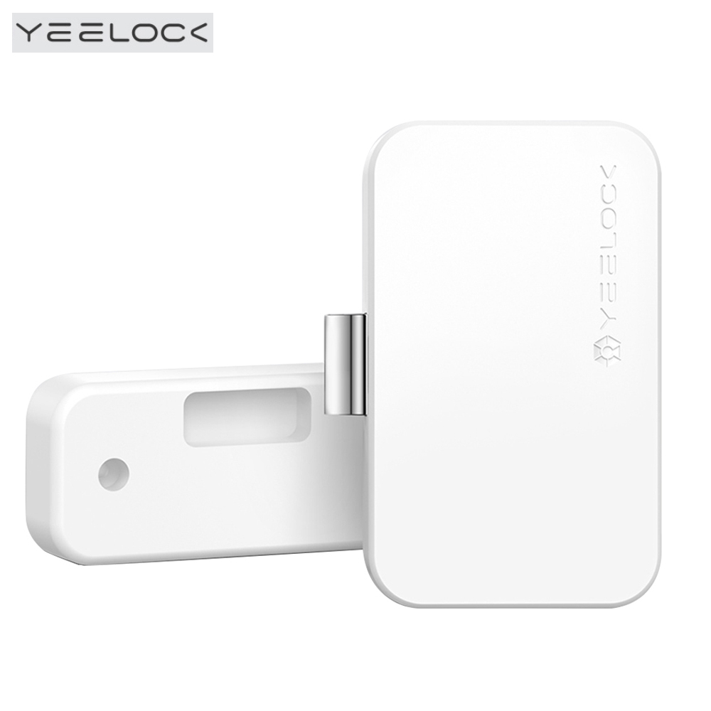 Original Xiaomi YEELOCK Smart Drawer Cabinet Lock Keyless Bluetooth APP Unlock Anti-Theft Child Safety File Security Smart Lock