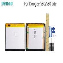 Batería de repuesto extrema 10080mAh para Doogee S80 para Doogee S80 Lite baterías de teléfonos móviles + herramientas