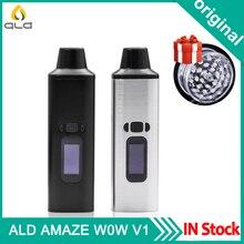 Vape Kit Original ALD AMAZE Dry Herb Vaporizer Kit Vape Pen 1800mAh Battery Smoke Herbal Electronic Cigarette Vape Vaporizer