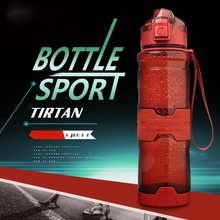 Sports Water Bottle Bpa Free 500ml/1000ml Protein Shaker Portable Motion Plastic Bottle Water for Sports Camping Hiking цена и фото