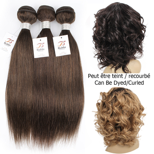 Image 4 - Bobbi Collection 1 Bundle Dark Brown 1B 27 Ombre Honey Blonde Indian Hair Weave Straight Human Hair Weft Non Remy Hair Extension