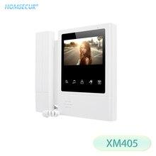 """HOMSECUR XM405 4,"""" TFT lcd цветной экран внутренний монитор для системы видеодомофона"""