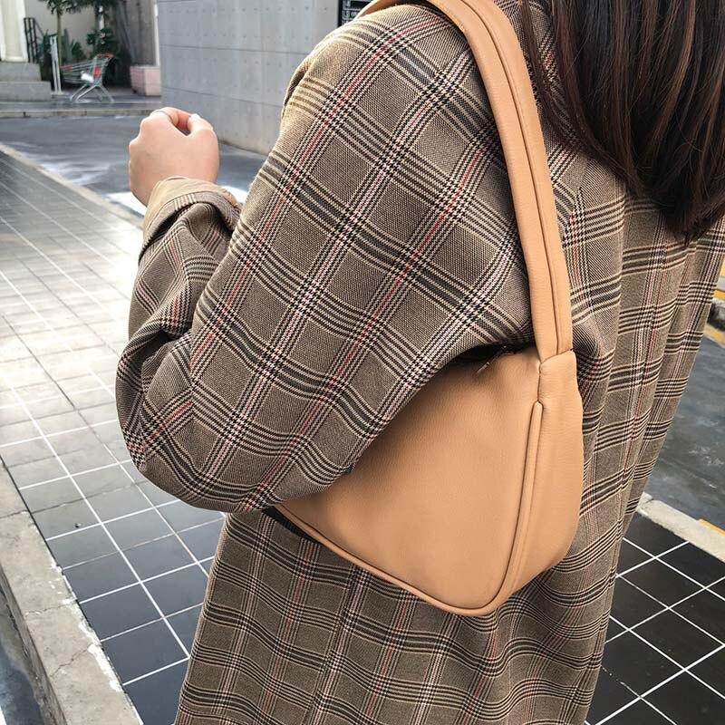 Retro Totes Bags For Women 2020 Trendy Vintage Handbag Female Small Subaxillary Bags Casual Retro Mini Shoulder Bag 2