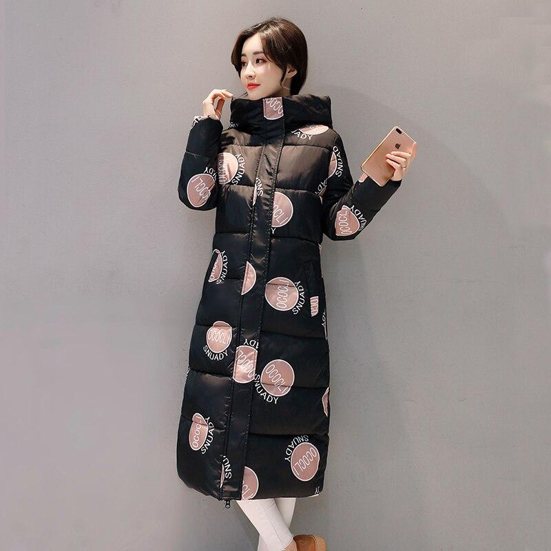 Orwindny/Новинка 2019 куртка женская года; зимнее пальто с капюшоном для женщин; зимнее пальто; парка; теплая стильная камуфляжная женская зимняя ...