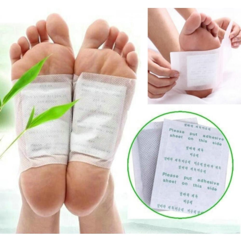 600pcs Herbal Detox Foot Patch Kinoki Detox Foot Pads Cleansing Body Toxins Slimming Foot Care (300pcs Patches+300pcs Adhesives)