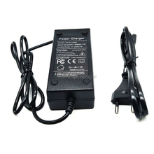 36V battery charger Output 42V 2A Charger Input 100 240 VAC Lithium Li ion Charger For 10S 36V Electric Bike Drop Ship