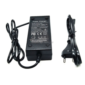 Image 1 - 36V battery charger Output 42V 2A Charger Input 100 240 VAC Lithium Li ion Charger For 10S 36V Electric Bike Drop Ship