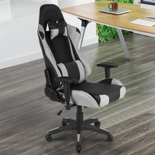 Armchair Furniture Headrest Computer Lumbar-Pillow Office-Chairs HWC Household with Adjustable