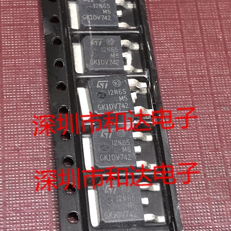 5pcs 8.5A STD12N65M5 PARA-252 710V