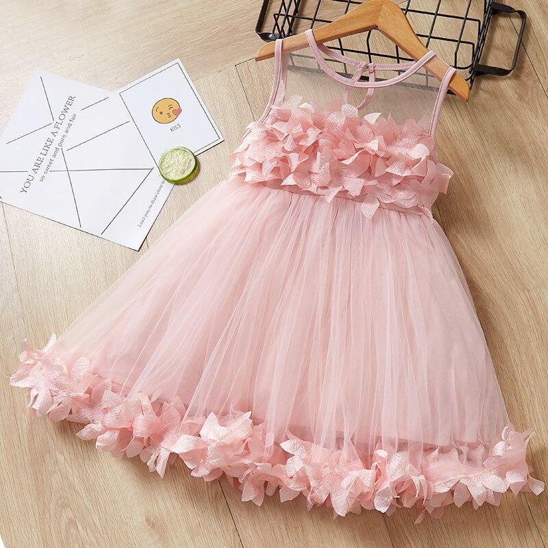 Urso líder meninas vestidos de princesa 2020 novos crianças vestidos xadrez menina roupas elegantes vestidos doce bebê crianças arco roupas 2 6y