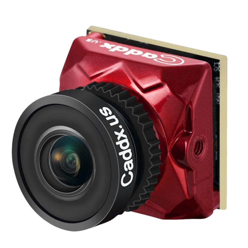 Caddx Ratel 1/1.8 Inch Starlight Hdr Osd 1200Tvl Ntsc/Pal 16:9/4:3 Switchable 2.1Mm Lens Fpv Camera For Rc Drone(Ratel+2.1Mm Len