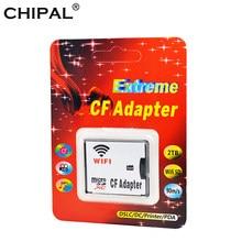 Original WIFI Adapter Speicher Karte TF Micro SD auf CF Compact Flash Karte Kit Microsd/sdxc/sdhc Typ ICH Konverter für Digital Kamera