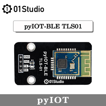 01Studio pyIOT- BLE Module  TLSR8266 UART Low consumption Bluetooth BLE 4.0 Module MicroPython Development Board bluetooth 4 ble multifunction pedometer keyfob development board to support the anti lost ibeacon