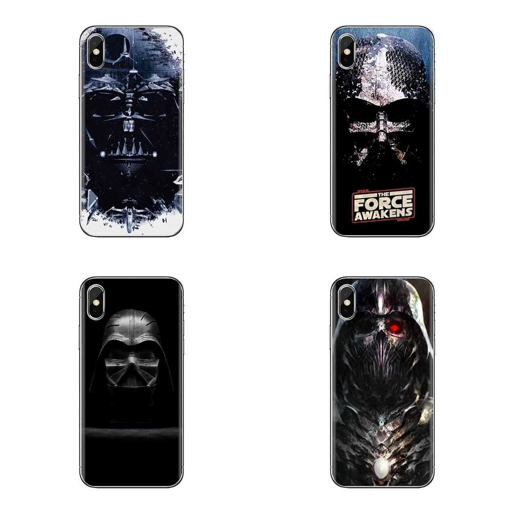 Para Xiaomi Redmi 4A S2 nota 3S 3S 4 4X4 5X5 6 Plus 7 6A Pro teléfono móvil F1 funda de piel suave transparente Darth Vader Ninja escultura de madera