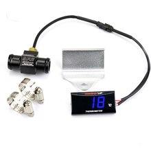 Мотоцикл термометр инструменты Температура воды цифровой дисплей Калибр метр KOSO для Kymco AK550 Xmax 300 Tmax 530