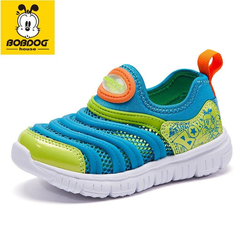 BOBDOG House Baby Shoes Korean Fashion Kids Shoes Mesh Breathable Children's Shoes BM8682