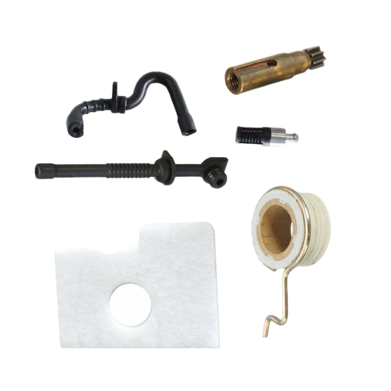 Chainsaw Oil Pump Worm Gear Fuel Oil Hose Filter Kit For Stihl MS180 MS170 018