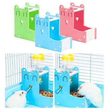 Plastic Hamster Drinker Water Bottle Dispenser Feeder Hanging Pet Dog Guinea Pig Squirrel Rabbit Drinking Head Pipe Fountain 1