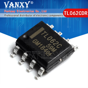 10pcs TL062CDR SOP-8 TL062C SOP8 TL062 SOP 062C TL062CDT - sale item Active Components