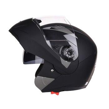 2019 New Flip Up Full Face Motorcycle Helmet Motorbike Modular Dual Lens Motocross Moto Helmet Crash Full Face Helmets