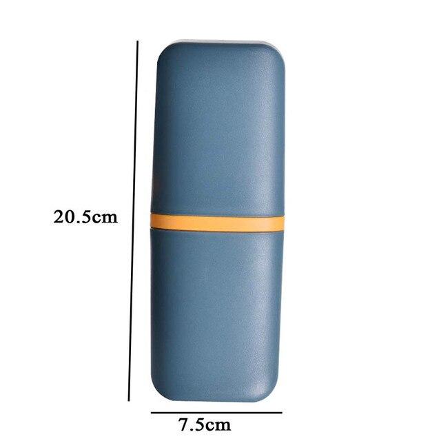 держатель для зубных щеток портативный ящик открытый дорожная фотография