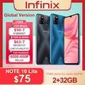 Globale Version Infinix Heißer 10 Lite 2GB 32GB Handy 6.6