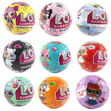 Surprise LOL Dolls Color Change Egg Confetti Pop Series Dress Doll Magic Ball Action Figure Kids Toys For Children Christmas