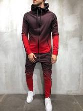 MARK KRALI Track Suit sweatsuit Joggers Sets Men Tracksuit Men Set men Sports Suits Tracksuit Jogging Homme Winter Track Suit