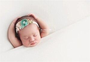 Image 4 - 150*170cm yenidoğan fotoğraf sahne battaniye bebek battaniye zemin kumaşlar çekimi Studio aksesuarları