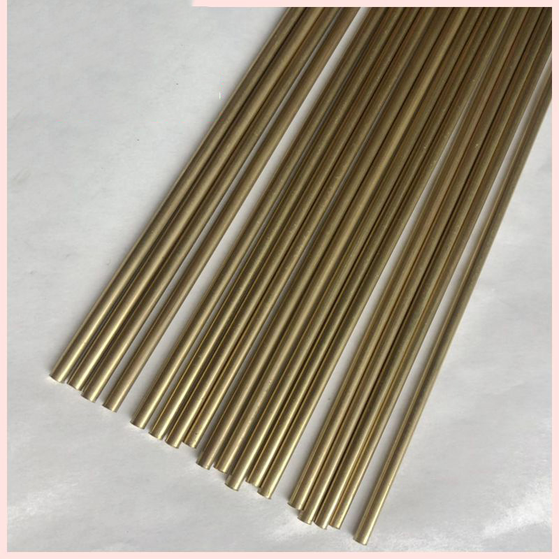 Brass Solid Copper Article Yuan Tong Bang Superfine Brass Rod 1.0mm 1.2mm 1.5mm 2.0mm 2.5mm 3.0mm 3.5mm