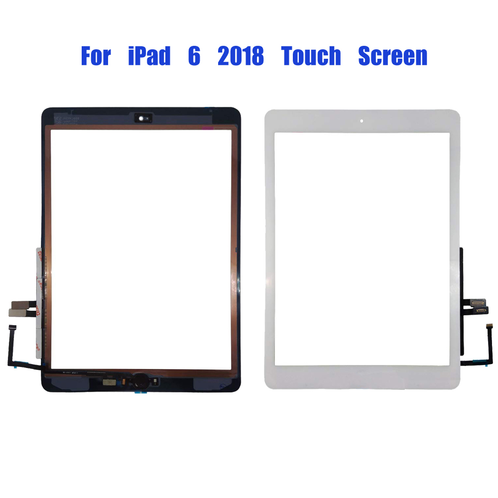 2018 Touch LCD A1893 A1954 LCD Screen Front Panel Glas Digitizer For IPad 6th Generation 6 2018 LCD Display Panel A1893 A1954 AA