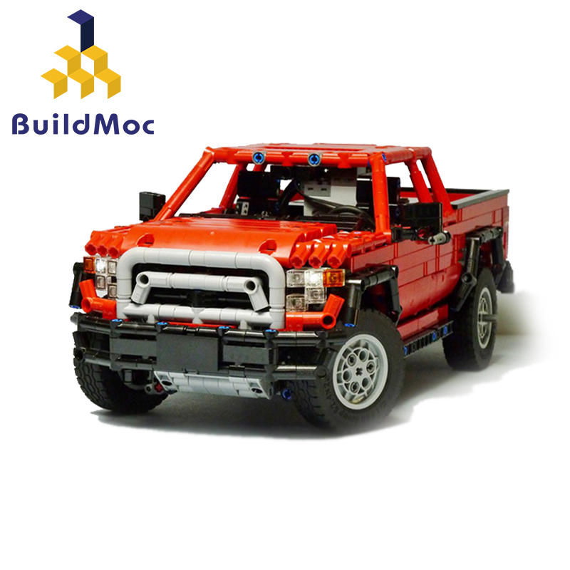 MOC-25520 lego Dacoma 4x4 Redux (6)