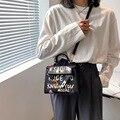 Новинка 2021, стильная Весенняя сумка на одно плечо, сумка Келли, модная повседневная женская сумка-мессенджер