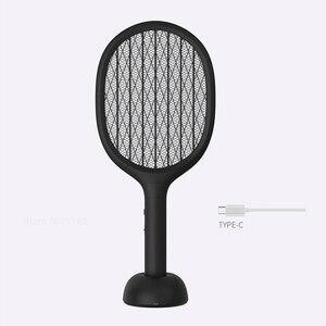 Image 4 - XIAOMI SOLOVE P1 אנכי יתושים רוצח USB נטענת כף יד חשמלי יתושים רוצח סופר ארוך סוללה טוס מחבט בית
