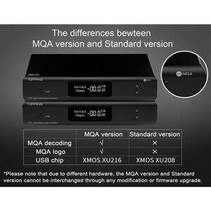 Image 3 - أعلى D90 MQA AK4499 AK4118 بلوتوث 5.0 كامل متوازن DAC فك ، XMOS XU216 ، DSD512 PCM 32bit/768kHz ، جهاز التحكم عن بعد ،