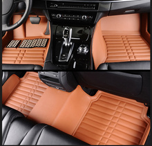 цена на Full Covered No Odor Waterproof Carpets Durable Special Car Floor Mats for BMW X1 X3 X4 X5 X6 Z4 I8 M3 M4 M5 M6 I3 X5M X6M M2