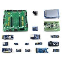 Stm32f4discovery stm32 placa de desenvolvimento kit stm32f407vgt6 stm32f407 + 15 módulos = Open407V D pacote b