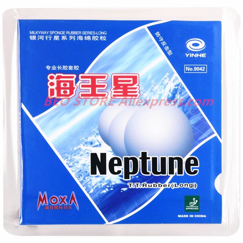 YINHE Neptune Pips-Long Galaxy Table Tennis Rubber Topsheet OX Ping Pong With Sponge
