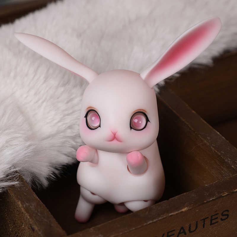 Bjd 1/12 boneca coelho Rubi pequena boneca bonecas de palma frete grátis